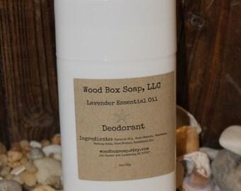 Lavender Essential Oil Deodorant. Deodorant. Handmade Deodorant.