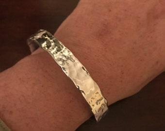 Hand Hammered Bracelet