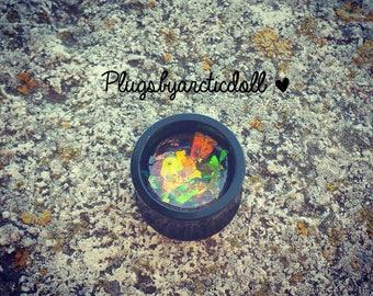 """1 plug iridescent 14mm """"Fairy"""""""