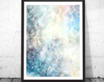 Abstract Watercolor, Abstract Painting, Abstract Art, Original Abstract, Bue Abstract Print, Watercolor Abstract, Abstract Paintings