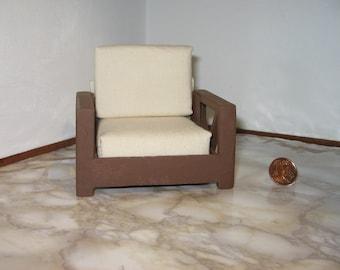 """Armchair """"Woodcream"""" for dolls house"""
