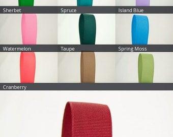 Ribbon Bazaar Solid Grosgrain Ribbon 7/8 inch 50 yards 100% Polyester