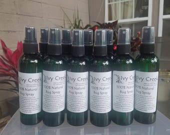 Natural Bug Repellent Spray, Nontoxic Bug Spray, Pet Safe Bug Spray, Kid Safe Bug Spray, Holistic Bug Spray, Chemical free Bug Spray,