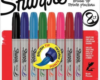 8 permanent markers in assorted colors code: NM-1810703