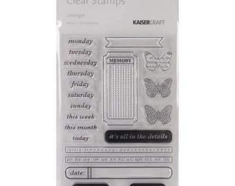 "Limelight Clear Stamps 6.25""X4"""