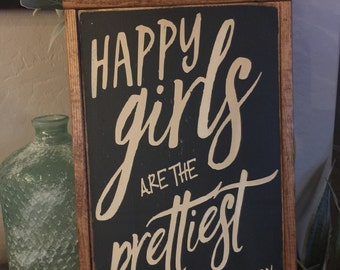 Happy Girls are the Prettiest- Audry Hepburn
