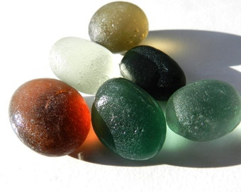 Sea Glass Bubbles for Display and Collections