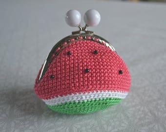 Watermelon purse / watermelon purse hook