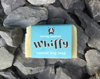 Dog Shampoo Bar - Natural Coconut