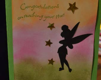 Congratulations on reaching your star