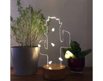 3D Cactus Lamp