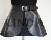 skirt,Black Belt, Black Leather belt | Real Leather Belt| Handmade Belt | Plus size belts,