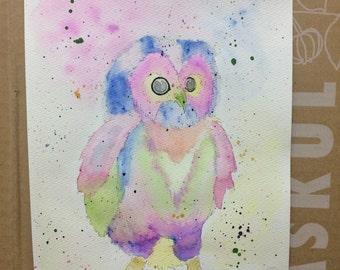 Rainbow Owl- Soft