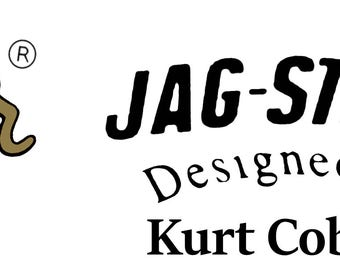 Two JAG-STANG  Waterslide Decals