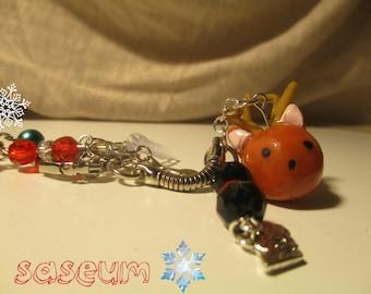 Keychain/ Dust Plug: Saseum