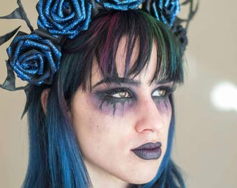 Rose and thorn crown