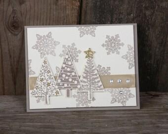Festive Flurries Christmas Card