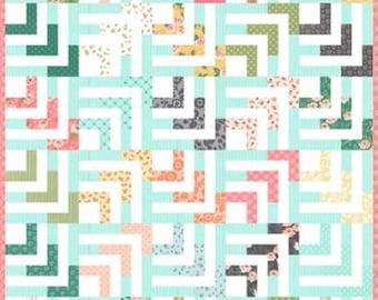Beachcomber Quilt Pattern by Lella Boutique, Sugar Pie Quilt Pattern, Jelly Roll Quilt Pattern
