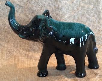 Vintage BMP Blue Mountain Pottery figurine elephant