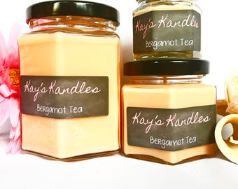 Bergamot Tea - Pure Soy Candle Scented