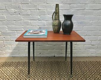 Vintage Retro Rectangular Coffee Table