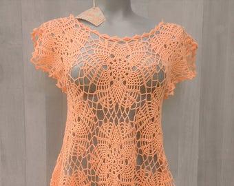 tunic, blouse, top, crochet gypsy top, bohemian top, sexy top, elegant top, crochet lace top,  festive top blouse tunic, crochet fashion
