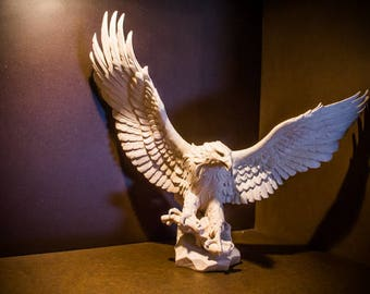 L'Aquila in Maple wood Handicrafts
