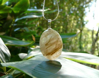 Pendant quartz and Rutile