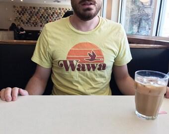 Vintage Wawa Logo Tee - east coat tshirt - philly - New Jersey - mens - womens - S-XL