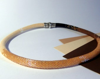Creme Caramel necklace, 18.5'', Shades Collection