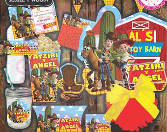 PRINTABLE KIT custom Jessie and Woody