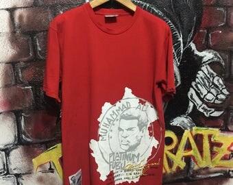 Fubu X Muhammad Ali Tshirt Oldskool Rap Hip Hop