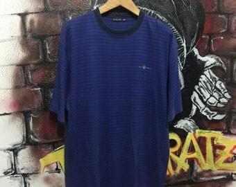 Vintage Gant Usa Stripes Tshirt