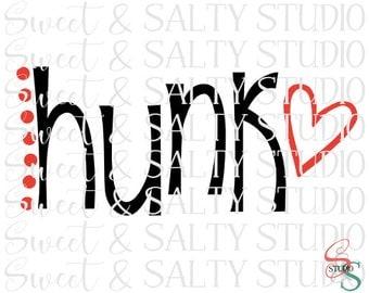 hunk and babe valentine digital file