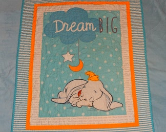 Dumbo Baby Quilt ** ON SALE**