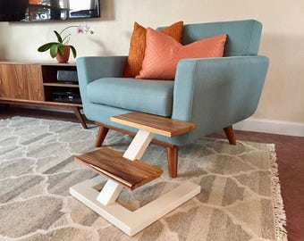 Customizable Color/Wood Floating Pet Steps