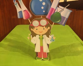 Scientist Girl Party
