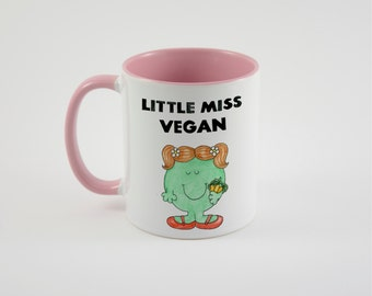 Little Miss Vegan mug