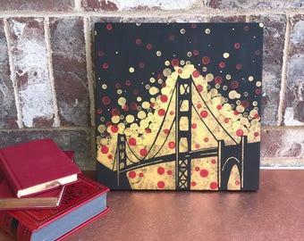 Golden Gate Bridge Painting//San Francisco Art//San Francisco