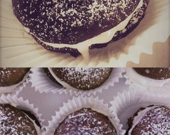 SUGAR FREE Whoopie Pies | Holiday Sweets | Holiday Desserts | Holiday Cakes / Holiday Pies / Holiday Cookies | Birthday Gift