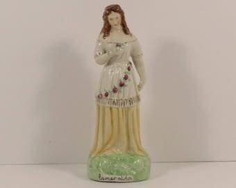 """Vintage Staffordshire Style """"Esmeralda"""" Figurine."""