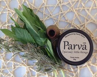 Three Herbs Organic Hardworking Hand Salve 50g