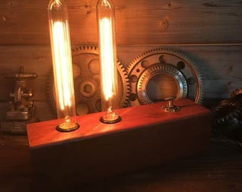 Edison Wood Lamp