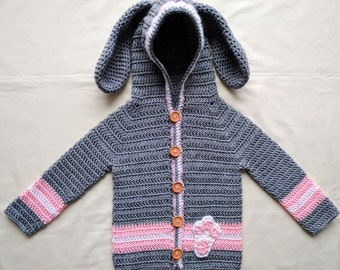 Bunny Hooded Sweater