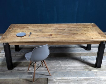 Dining table from timber & iron Arles 220 x 110cm