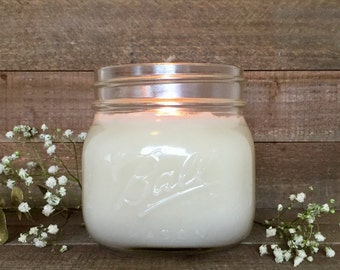 16 oz Soy Candle - 100% Natural Soy Wax & Essential Oils