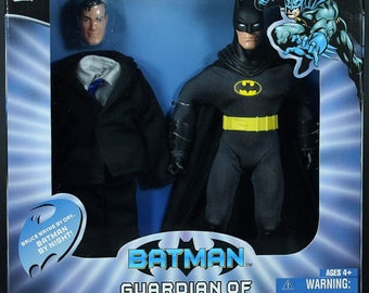 "Batman Guardian of Gotham City 9"" Retro-Style Exclusive MIB Variant Packaging"