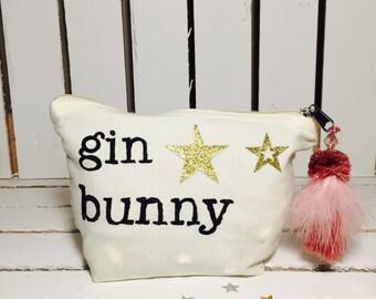 Gin Bunny Zip Purse