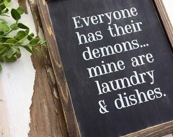 everyone has their demons...