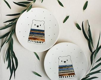 Polar bear plate